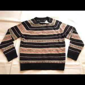 J. Crew Fair Isle Sweater 100% Lambs Wool Large L